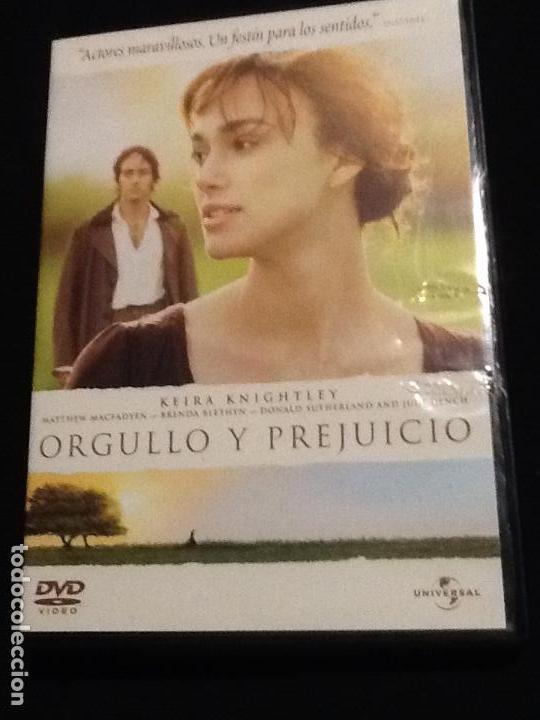 ORGULLO Y PREJUICIO DVD (Cine - Películas - DVD)