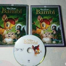 Cine - Bambi Edicion Diamante Clásico Disney n°5 DVD Impecable - 138535798