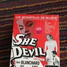 Cine: SHE DEVIL (LA DIABLA) DVD COMO NUEVO. Lote 138543578
