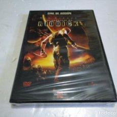 Cine: LAS CRÓNICAS DE RIDDICK DVD NUEVO PRECINTADO . Lote 138557118
