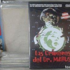 Cine: LOS CRIMENES DEL DR. MABUSE,FRITZ LANG,PRECINTADA. Lote 138583866