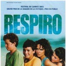 Cine: RESPIRO (NUEVO). Lote 194378730