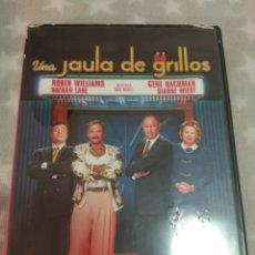 Cine: DVD. UNA JAULA DE GRILLOS. DESCATALOGADO. CON ROBIN WILLIAMS Y GENE HACKMAN.. Lote 138607326