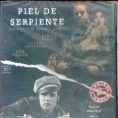 Cine: TODODVD: PIEL DE SERPIENTE + SALVAJE 2 DVD (MARLON BRANDO). Lote 171641880
