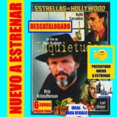 Cine: INQUIETUDES - KEITH CARRADINE KRIS KRISTOFFERSON LORI SINGER - ESTRELLAS DE HOLLYWOOD - CINE NEGRO. Lote 138674674