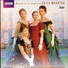 Cine: LAS BUCANERAS DVD (3.DVD -COLECC. BBC)..LOS TRAJES MAS BELLOS..LOS LUGARES MAS ASOMBROSOS. Lote 138706290