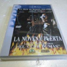 Cine: LA NOVENA PUERTA DVD NUEVO PRECINTADO. Lote 138774478