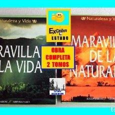 Cine: MARAVILLAS DE LA NATURALEZA Y DE LA VIDA - LASER DISC - 20 DISCOS - COLECCIÓN COMPLETA - SEMI NUEVA. Lote 138814490