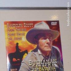 Cine: BUCHANAN CABALGA DE NUEVO CON RANDOLPH SCOTT - DVD VIDEO -. Lote 138815806