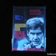 Cine: JUEGO DE PATRIOTAS HARRISON FORD - DVD NUEVO PRECINTADO. Lote 138899858