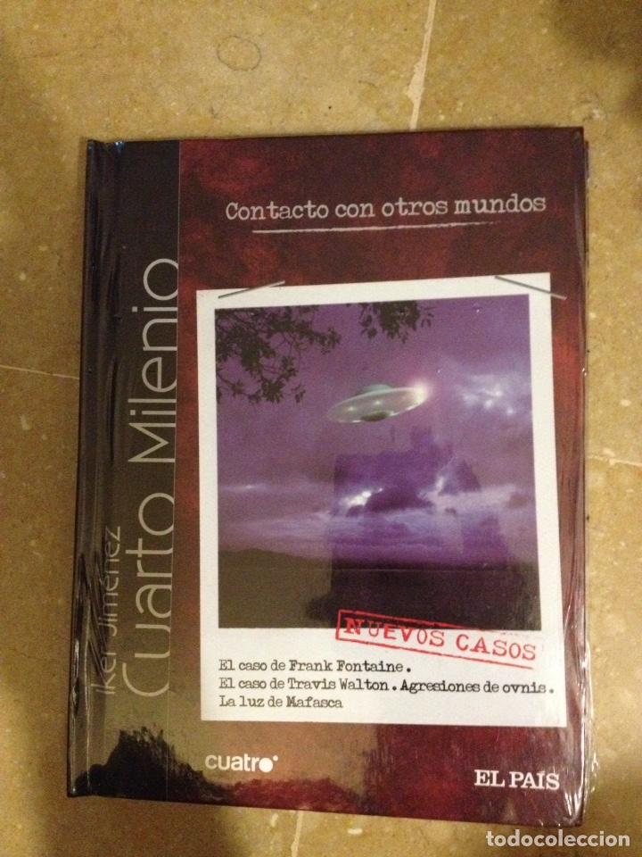 CUARTO MILENIO (IKER JIMÉNEZ) CONTACTO CON OTROS MUNDOS N 20 (LIBRO DVD)