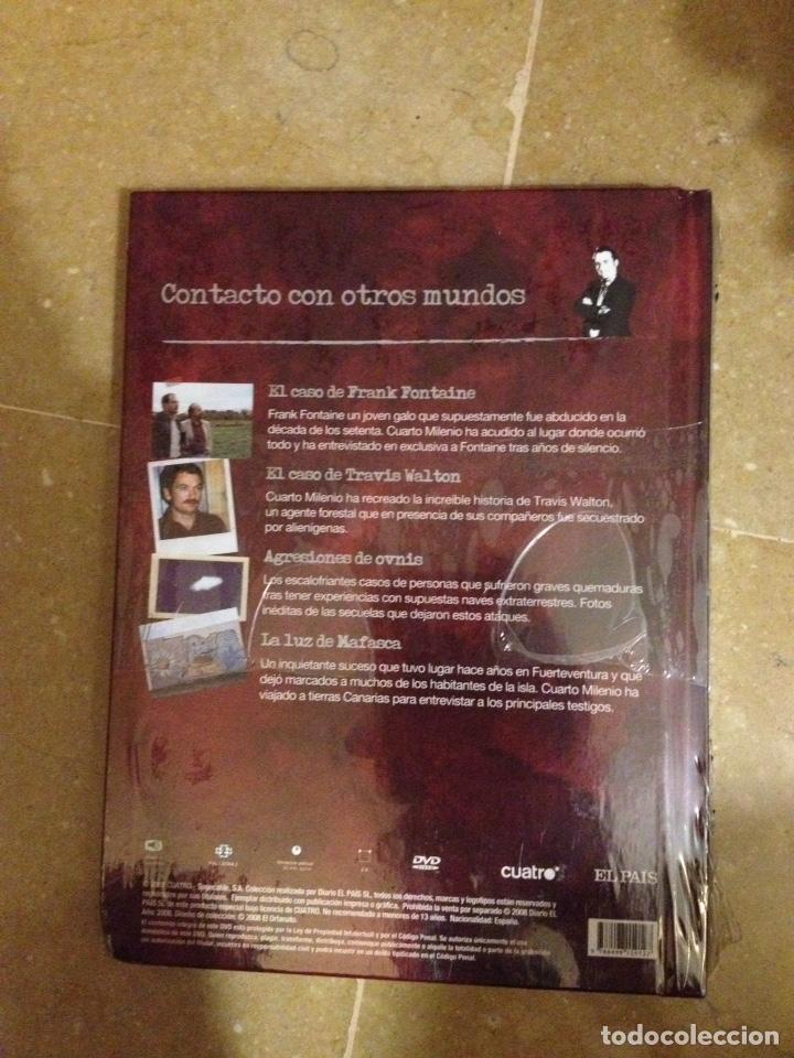 Cuarto milenio (Iker Jiménez) Contacto con otros mundos N 20 (Libro DVD)  Precintado