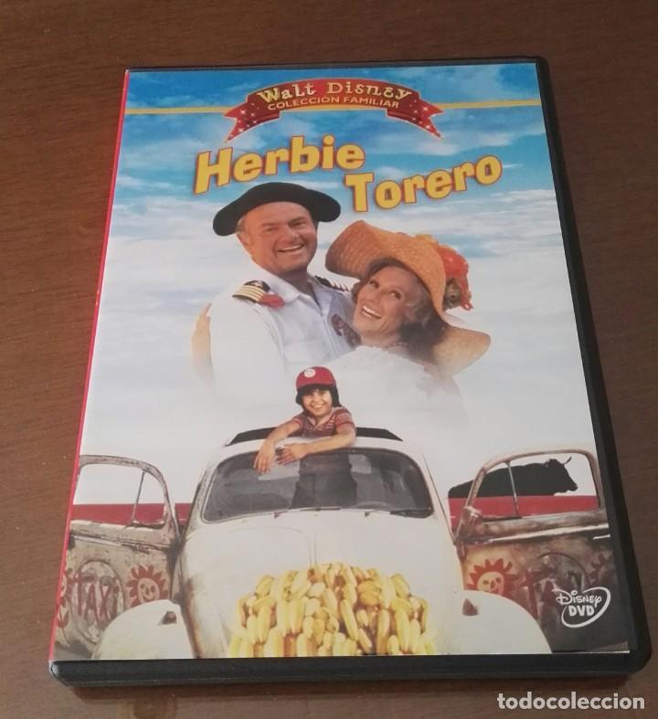 HERBIE TORERO DVD DISNEY PELICULA DESCATALOGADA (Cine - Películas - DVD)