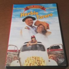 Cine: HERBIE TORERO DVD DISNEY PELICULA DESCATALOGADA. Lote 138943706