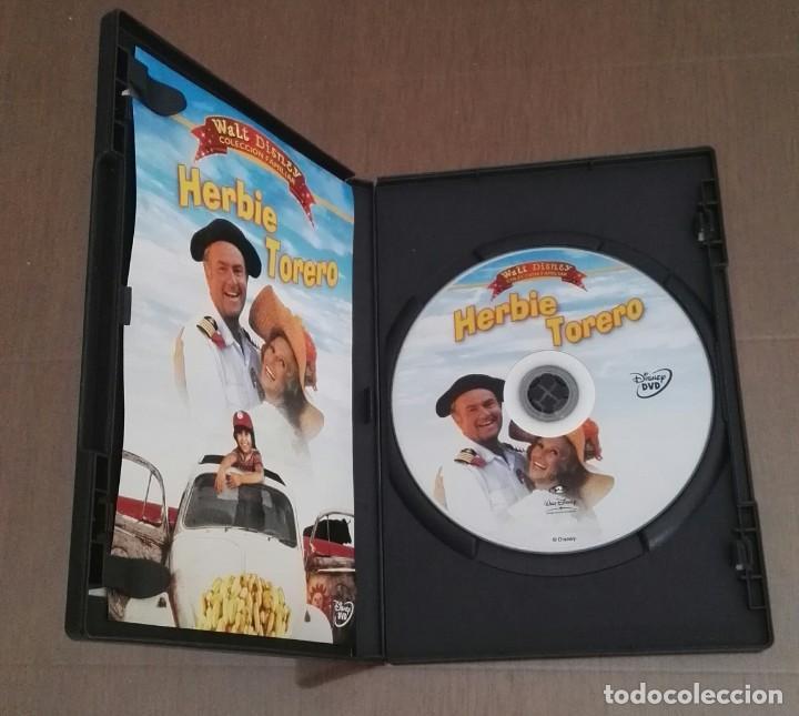 Cine: Herbie torero dvd DISNEY pelicula descatalogada - Foto 3 - 138943706
