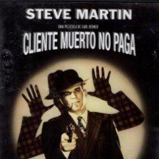 Cine: CLIENTE MUERTO NO PAGA DVD (S. MARTIN) UN DETECTIVE MUY PECULIAR SE HUELE ALGO RARO EN ESTE CASO. Lote 139010714