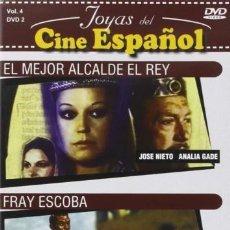 Cine: PACK EL MEJOR ALCALDE EL REY + FRAY ESCOBA (NUEVO). Lote 139091582