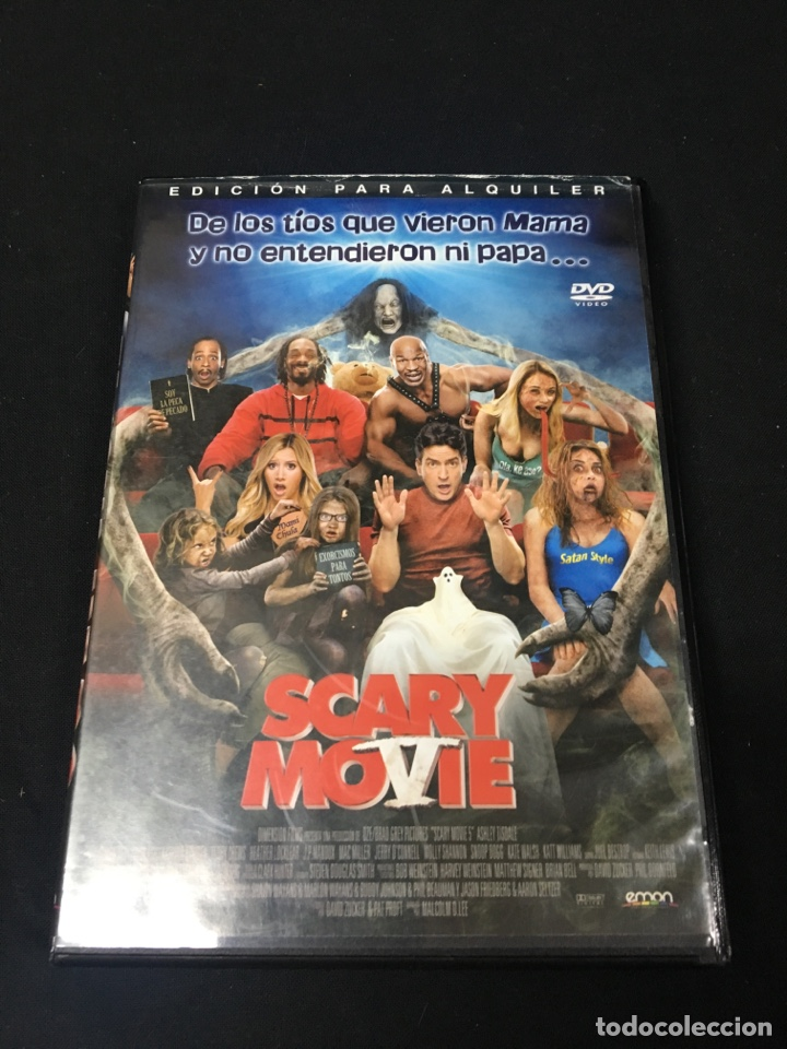 V46 Scary Movie 5 Charlie Sheen Dvd Pro Sold Through Direct Sale 139092117
