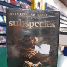 Cine: (RESEN ) SUBSPECIES - DVD NUEVO PRECINTADO. Lote 139207994