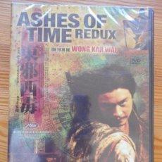 Cinema: DVD ASHES OF TIME REDUX - WONG KAR WAI - NUEVA, PRECINTADA (5T). Lote 139222306