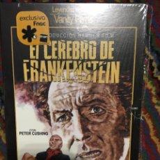 Cine: EL CEREBRO DE FRANKENSTEIN DVD PETER CUSHING DVD COMO NUEVO. Lote 139259594