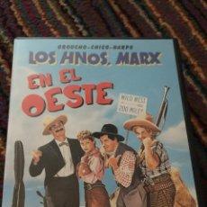 Cine: LOS HERMANOS MARX EN EL OESTE DVD COMO NUEVO. Lote 139262490
