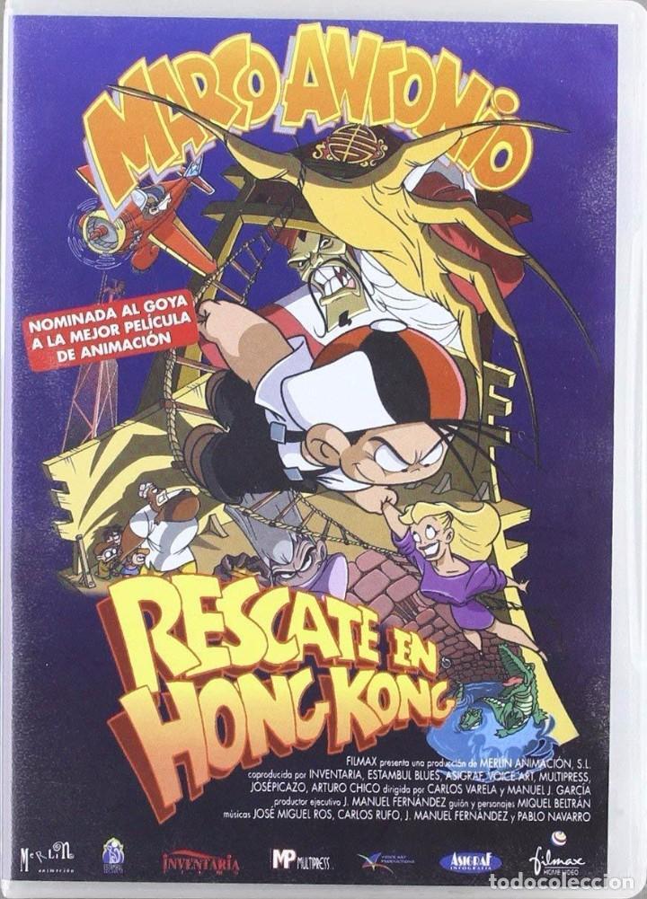 MARCO ANTONIO: RESCATE EN HONG KONG (NUEVO) (Cine - Películas - DVD)