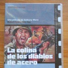 Cine: DVD LA COLINA DE LOS DIABLOS DE ACERO - ANTHONY MANN - NUEVA, PRECINTADA (EO). Lote 139343210