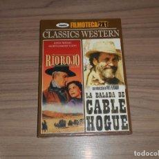 Cine: RIO ROJO DVD DE HOWARD HAWKS JOHN WAYNE NUEVA NO PRECINTADA. Lote 175771490