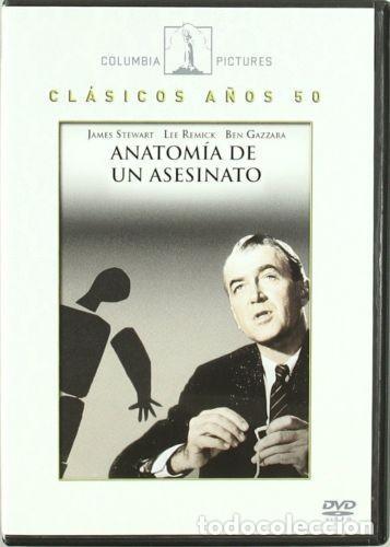 ANATOMÍA DE UN ASESINATO - ANATOMY OF A MURDER (NUEVO) (Cine - Películas - DVD)