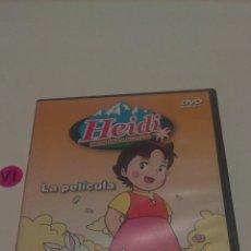 Cine: DVD HEIDI. HEIDI EN LA MONTAÑA.. Lote 139470522