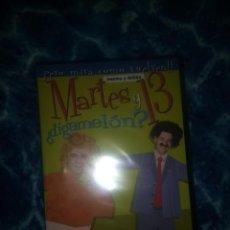 Cine: DVD MARTES Y 13 DIGAMELON PRECINTADO TRECE. Lote 154104642