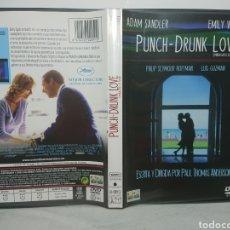 Cine: PUNCH DRUNK LOVE - 2 DVD'S IMPECABLES, NO VIDEOCLUB DESCATALOGADA. Lote 139482456
