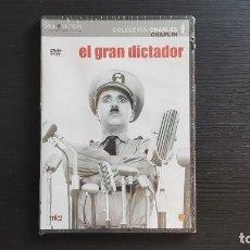 Cine: EL GRAN DICTADOR - CHARLES CHAPLIN - DVD - EL MUNDO - WARNER - 2007. Lote 139498858