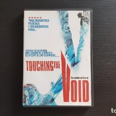 Cine: TOUCHING THE VOID - KEVIN MACDONALD - DVD - PARAMOUNT - 2002. Lote 139502038