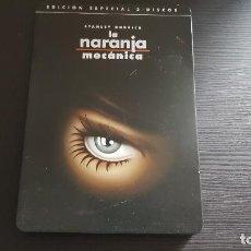 Cine: LA NARANJA MECÁNICA - STANLEY KUBRICK - EDICIÓN ESPECIAL DOS DISCOS - DOBLE DVD - WARNER - 2000. Lote 139505406