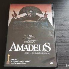 Cine: AMADEUS - MILOS FORMAN - F. MURRAY ABRAHAM - DVD - WARNER - 2000. Lote 139506526