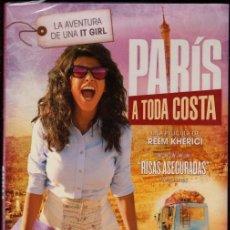 Cine: DVD - PARIS A TODA COSTA: QUERÍA LLEGAR A LA FAMA EN PARIS FUERA COMO FUERE...PERO EL CAMINO ES DURO. Lote 139520854