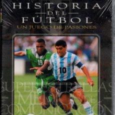 Cine: HISTORIA DEL FÚTBOL. SUPERESTRELLAS LOS MEDIA. DVD-4621. Lote 139568926