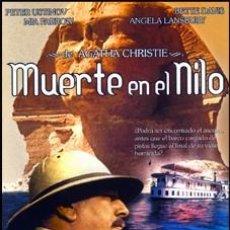 Cine: MUERTE EN EL NILO - PETER USTINOV, BETTE DAVIS, MIA FARROW DVD NUEVO. Lote 139681774