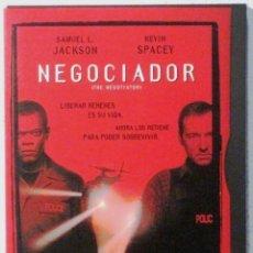 Cine: NEGOCIADOR - SAMUEL L JACKSON - KEVIN SPACEY - DVD . Lote 139689522