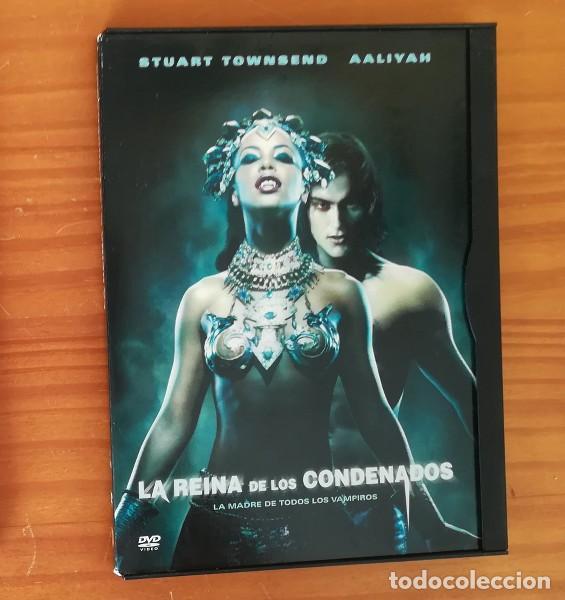 LA REINA DE LOS CONDENADOS -DVD- AALIYAH, STUART TOWNSEND, ANNE RICE, KORN, VAMPIROS... (Cine - Películas - DVD)
