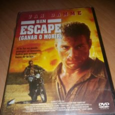 Cinema: SIN ESCAPE (VAN DAMME). Lote 139772028