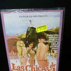 Cine: LAS CHICAS DE COPACABANA DVD. Lote 139872712