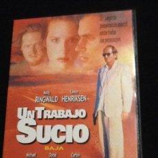Cine: UN TRABAJO SUCIO - MOLLY RINGWALD - LANCE HENRIKSEN - DVD. Lote 139911622