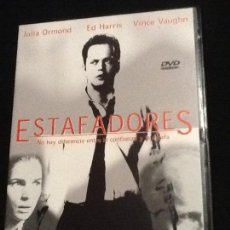 Cine: ESTAFADORES DVD. Lote 139911730
