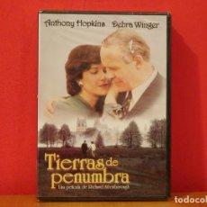 Cine: TIERRAS DE PENUMBRA DVD NUEVO PRECINTADO ANTHONY HOPKINS DEBRA WINGER RICHARD ATTENBOROUGH. Lote 139913774