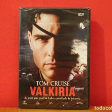 Cine: VALKIRIA DVD NUEVO PRECINTADO TOM CRUISE KENNETH BRANAGH BILL NIGHY TOM WILKINSON. Lote 139913910