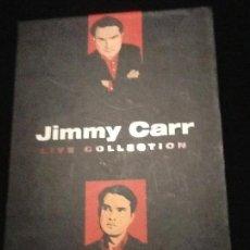 Cine: JIMMY CARR LIVE COLECCION NÚMERO 4 . 2 DVD UK. Lote 139914122