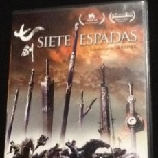 Cine: SIETE ESPADAS DVD. Lote 139914838
